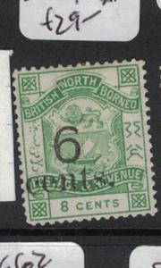 North Borneo SG 55 NGAI (7dot)