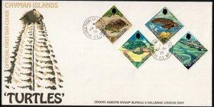 CAYMAN ISLANDS - FDC - Turtles 1971