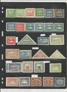 PARAGUAY COLLECTION ON STOCK SHEET, MINT/USED