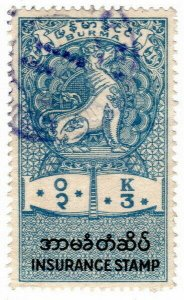 (I.B) Burma Revenue : Insurance 3K