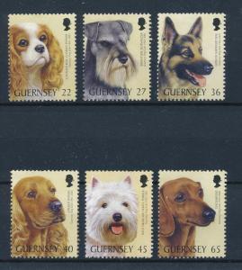 [59269] Guernsey 2001 Animals Dogs MNH