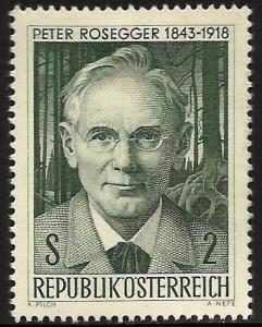 Austria 1968 Scott# 814 MH