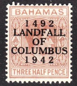 Bahamas Scott 118 F+ mint OG HH.