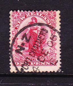 NEW ZEALAND 1900-06 1d UNIVERSAL FU P14x14 1/2  SG 360