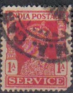 INDIA, 1939, used 1a. King George VI
