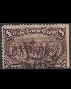 USA, 8 cents, 1898