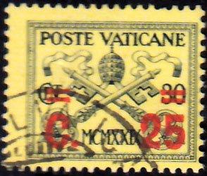 Vatican City Scott 14 Used.