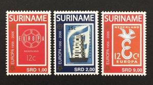 Suriname 2006 #1334-6, Europa 50th Anniversary, MNH.