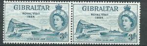 Gibraltar  SG 159 MUH  Pair