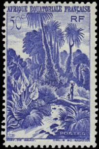 French Equatorial Africa #169 MNH
