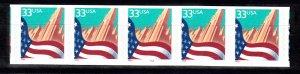 USA PNC SC# 3281 FLAG OVER CITY $0.33c PL# 7777A - LARGE DATE S.A.- PNC5 MNH