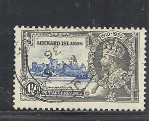 Leeward Islands #97 used cv $1.60