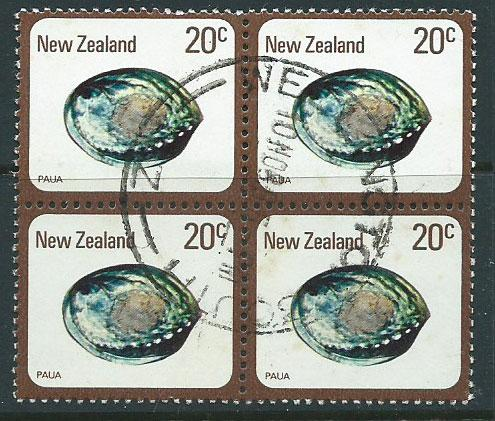 New Zealand SG 1099 Fine Used block of 4