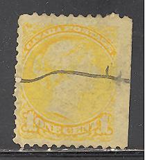 Canada Sc # 35, SG # 79 used (DT)