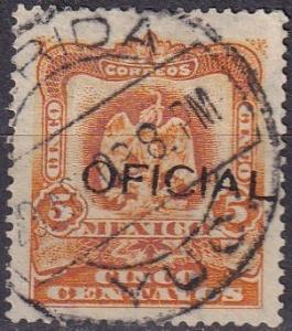 Mexico #O68  F-VF Used  CV $50.00 (A19371)