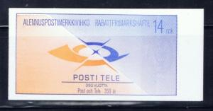 Finland 724a 1988 Bklt of 10