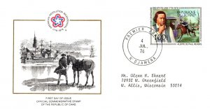 Chad, Americana, Worldwide First Day Cover