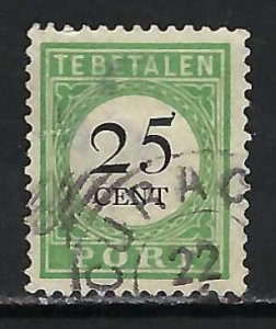 NETHERLANDS ANTILLES J17b USED THIN P973
