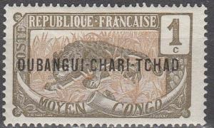 Ubangi-Shari #1 F-VF Unused