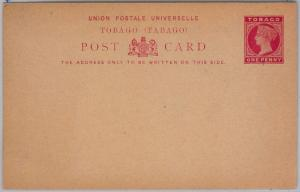 TOBAGO -  POSTAL STATIONERY CARD: Higgings & Gage # 6