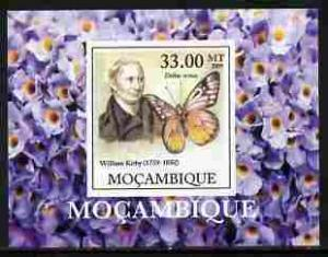 Mozambique 2009 Butterflies William Kirby Deluxe s/s Mint (NH) #1