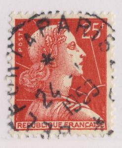 FRANCE - 1959 - CAD Ambulant T.3  BELFORT À PARIS 2° B  sur n°1011C