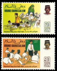Brunei 1991 Scott #428-429 Mint Never Hinged