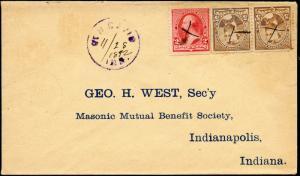 1892 BEN DAVIS, IND. COVER BM7260