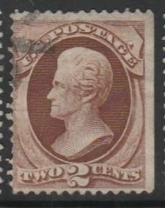 U.S. Scott #146 Jackson Stamp - Used Single