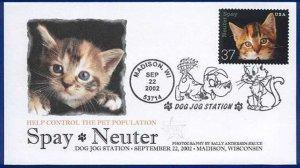 FPMG 3670 Spay Neuter Cats Dog Jog Station Madison WI