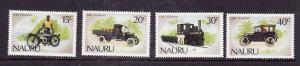 Nauru-Sc#317-20-Unused NH set-Transportation-Cars-Motorcycles-1986-