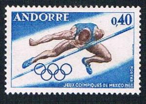 French Andorra 184 MLH High Jump (BP874)