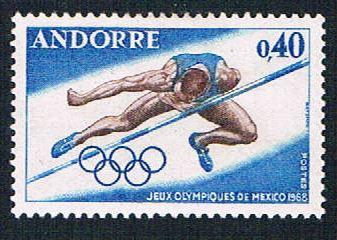 French Andorra 184 MLH High Jump (BP874)
