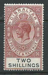 Gibraltar SG 103 Mint Very Light Hinge MVLH