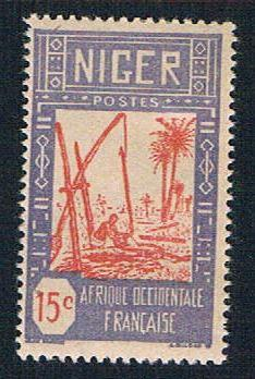 Niger 36 MLH Drawing Water from Well (BP10224)