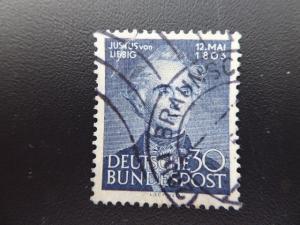 Germany 1953   Sc# 695   CV 22.50           (B#4)