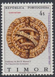 Timor 339 MNH - King Manuel I