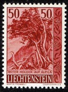 Liechtenstein Stamp 1959 Trees and Bushes MH/OG STAMP 50 RP