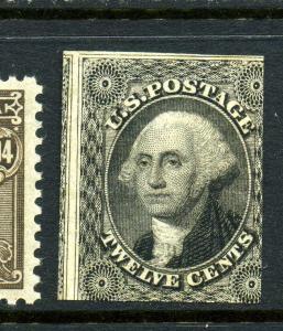 Scott 17 Washington Unused Imperf Stamp with PF Cert (Stock 17-11m)