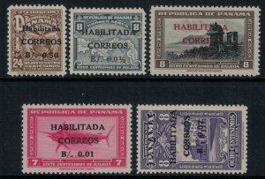 Panama #352-6* CV $3.00