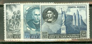 BD: San Marino 308-19, C80 mint CV $112.40; scan shows only a few
