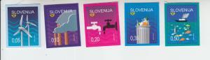 2018 Slovenia Environmental Protection (5) SA (Scott 1296-1300) MNH