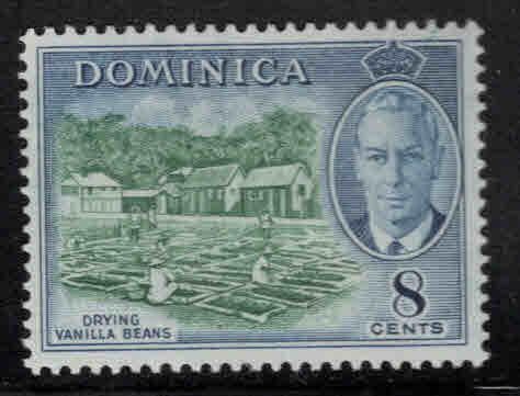 DOMINICA Scott 129 MH* 1951 stamp