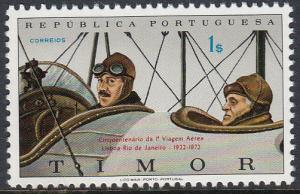 Timor 344 MNH - Lisbon to Rio Flight