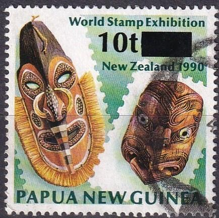 Papua New Guinea #862  F-VF Used CV $16.00 (A19114)