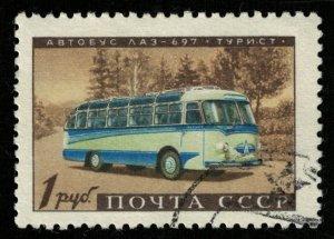 Bus, 1 Rub, LAZ-697 - Turist, USSR (T-8494)