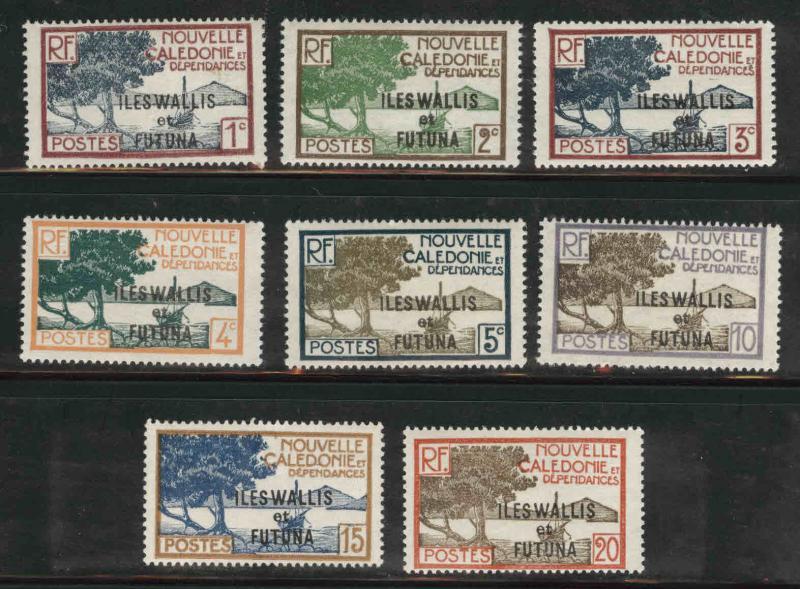 Wallis and Futuna Islands Scott 43-50 MH* short set