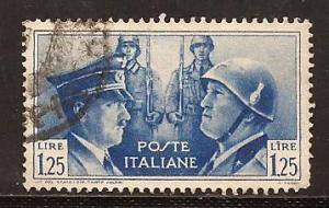 Italy  #  418  used