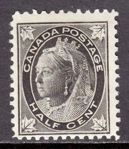 Canada - Scott #66 - MH - Minor perf folds at top - SCV $13