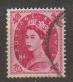 Great Britain SG 617b Used phosphor issue